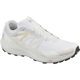 Salomon Sense Ride 3 Shoes Men, white/white/balsam green